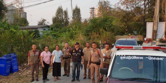 ตำรวจท่าเรือตรวจเยี่ยมประชาชน